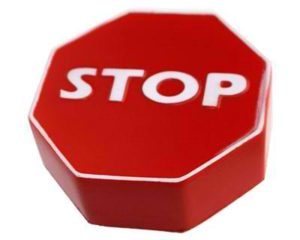 Promotional Stress Stop Sign
