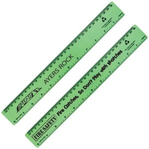 Promotional Echo Rule Recycled Plastic Ruler 30cm