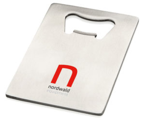 Business promo Stainless Steel Credit Card Bottle Opener